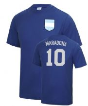 Diego Maradona Hand Of God Argentina World Cup Football T Shirt